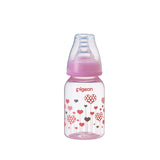 Flexible Peristaltic PP 120ml Bottle - Pink design