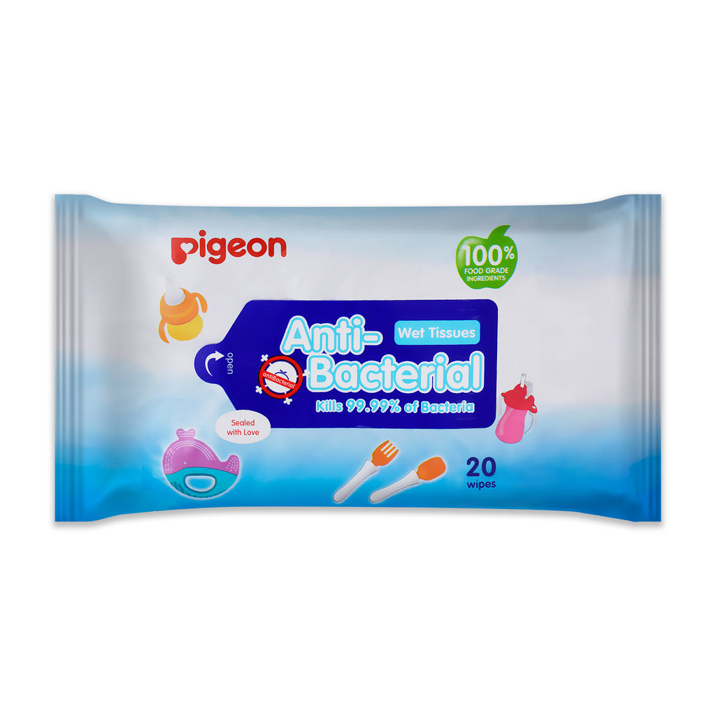 Anti Bacterial Wipes <br>1 x 20s