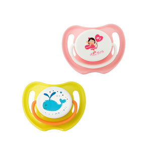 Calming Soother Twin Pack - Love Fairy / Whale (large)