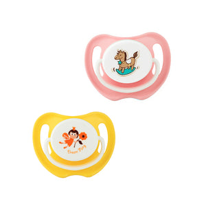 Calming Soother Twin Pack - Dream Fairy / Rocking Horse (medium)