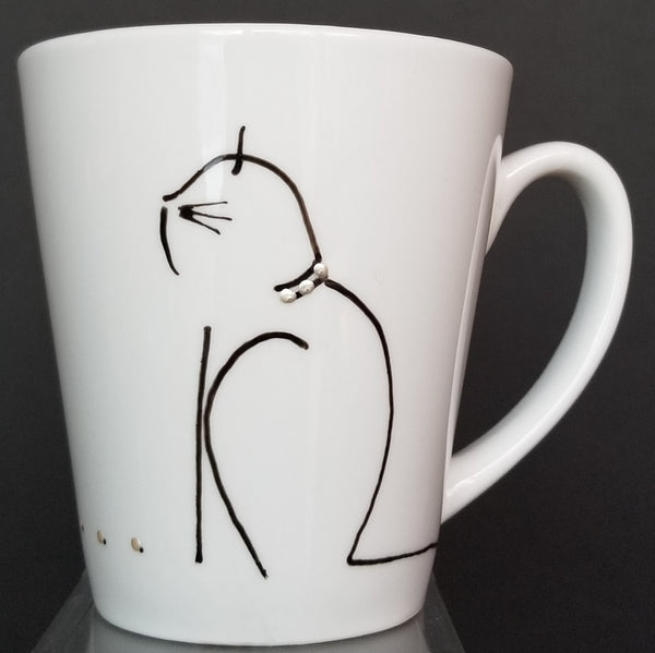 Mug Cat with Mouse
