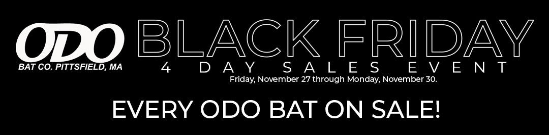 All Odo Wood Baseball Bats on Sale for Black Friday - Cyber Monday