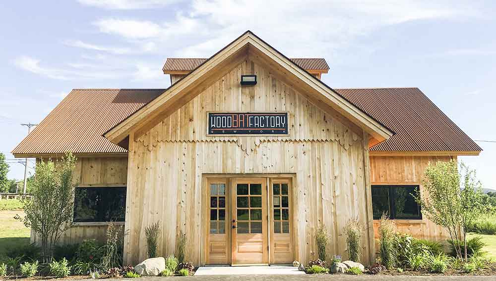 This is where we house 1000s of the highest quality, custom, wood baseball bats. The Wood Bat Factory's Store Front is a beautiful timber framed building in Cooperstown, NY.
