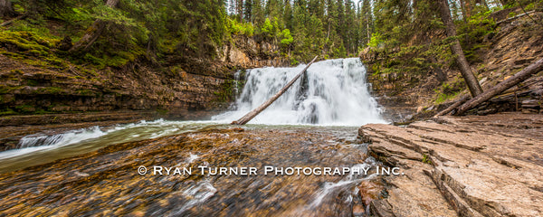 Ousel Falls Panoramic
