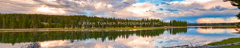 Reflections on the Yellowstone River