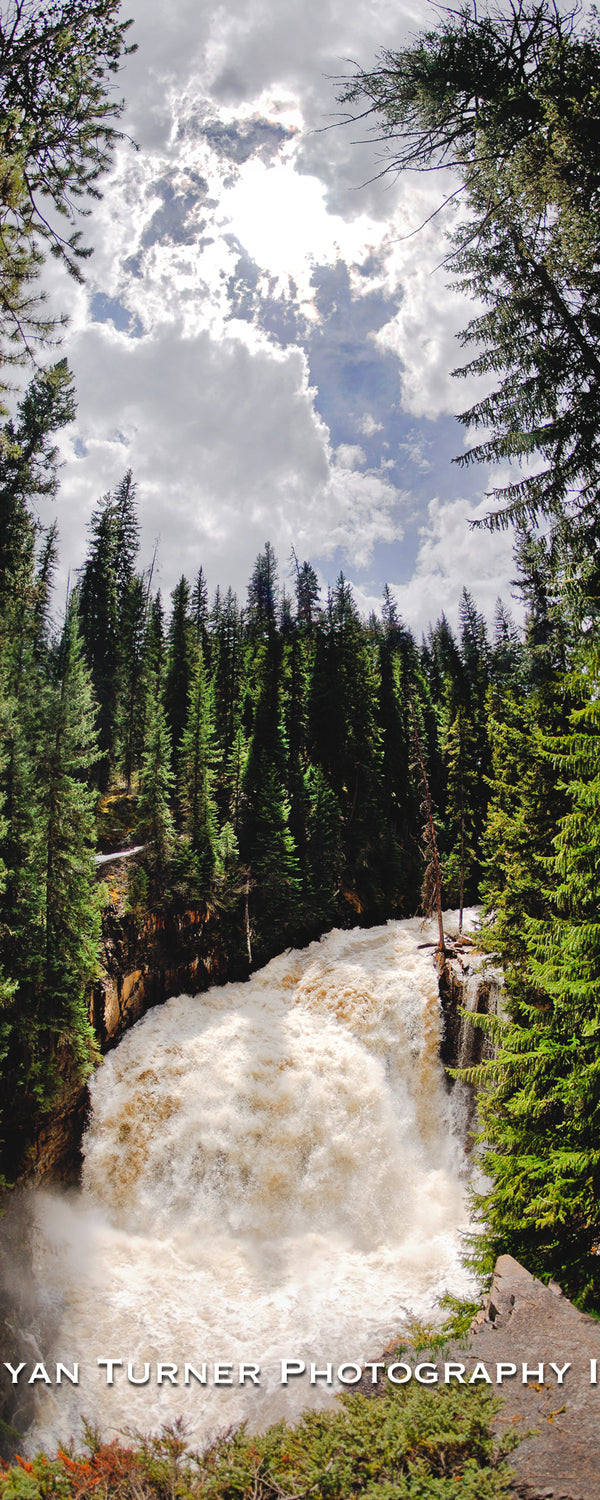 Ousel Falls During Spring Runoff
