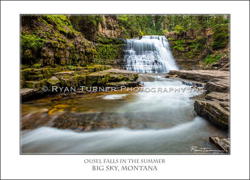 Ousel Falls in the Summer - Notecard