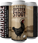 HenHouse Oyster Stout - Case (24 x 16oz cans) INCLUDES SHIPPING