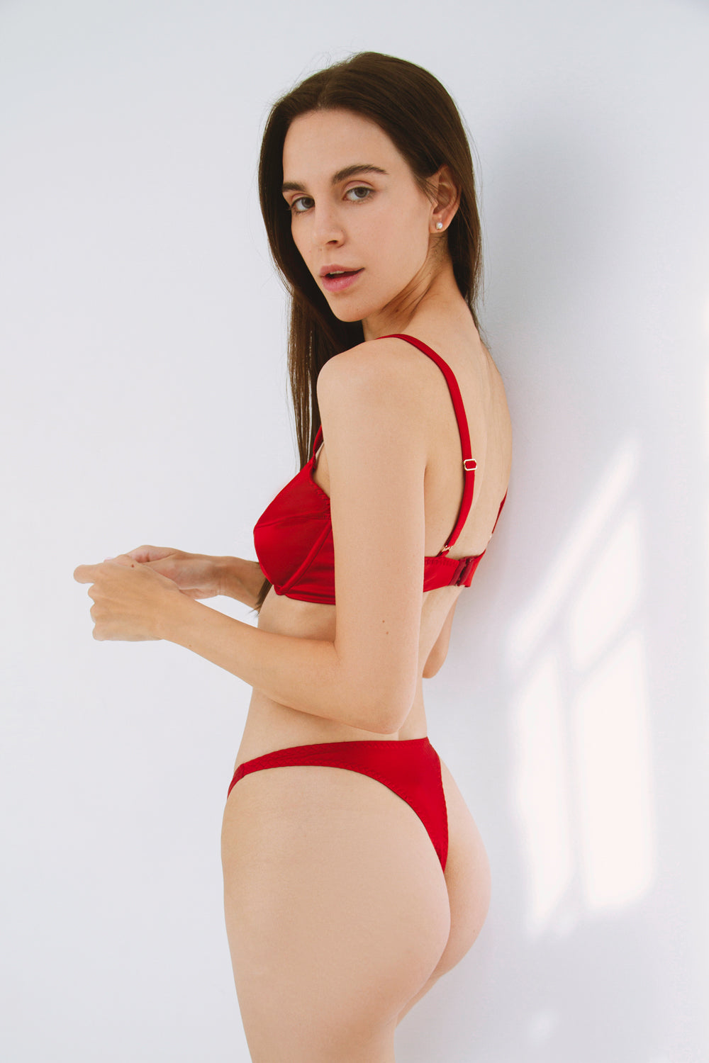 Agalisio high-waisted thongs