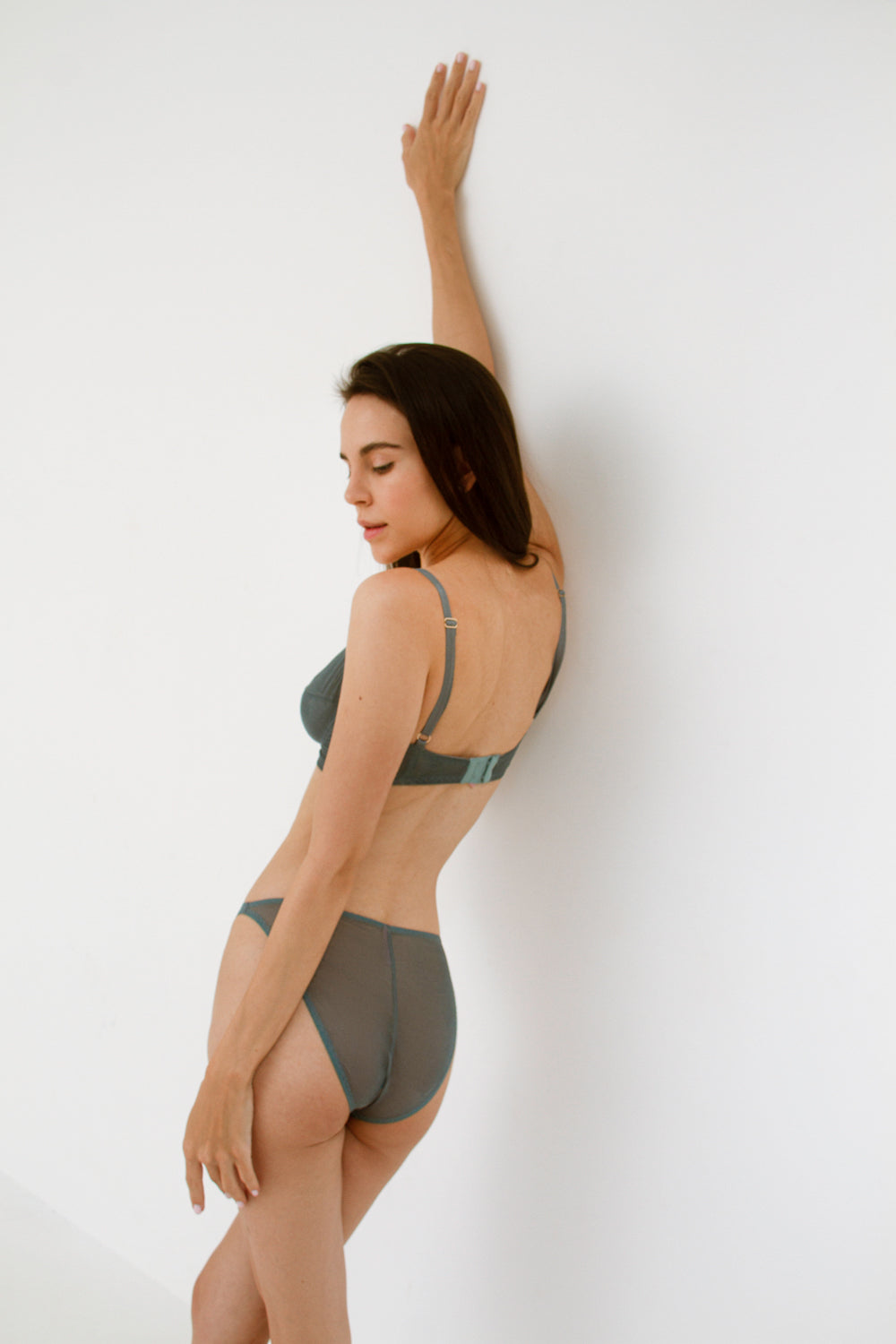 Constance Bluestone high-waisted panties