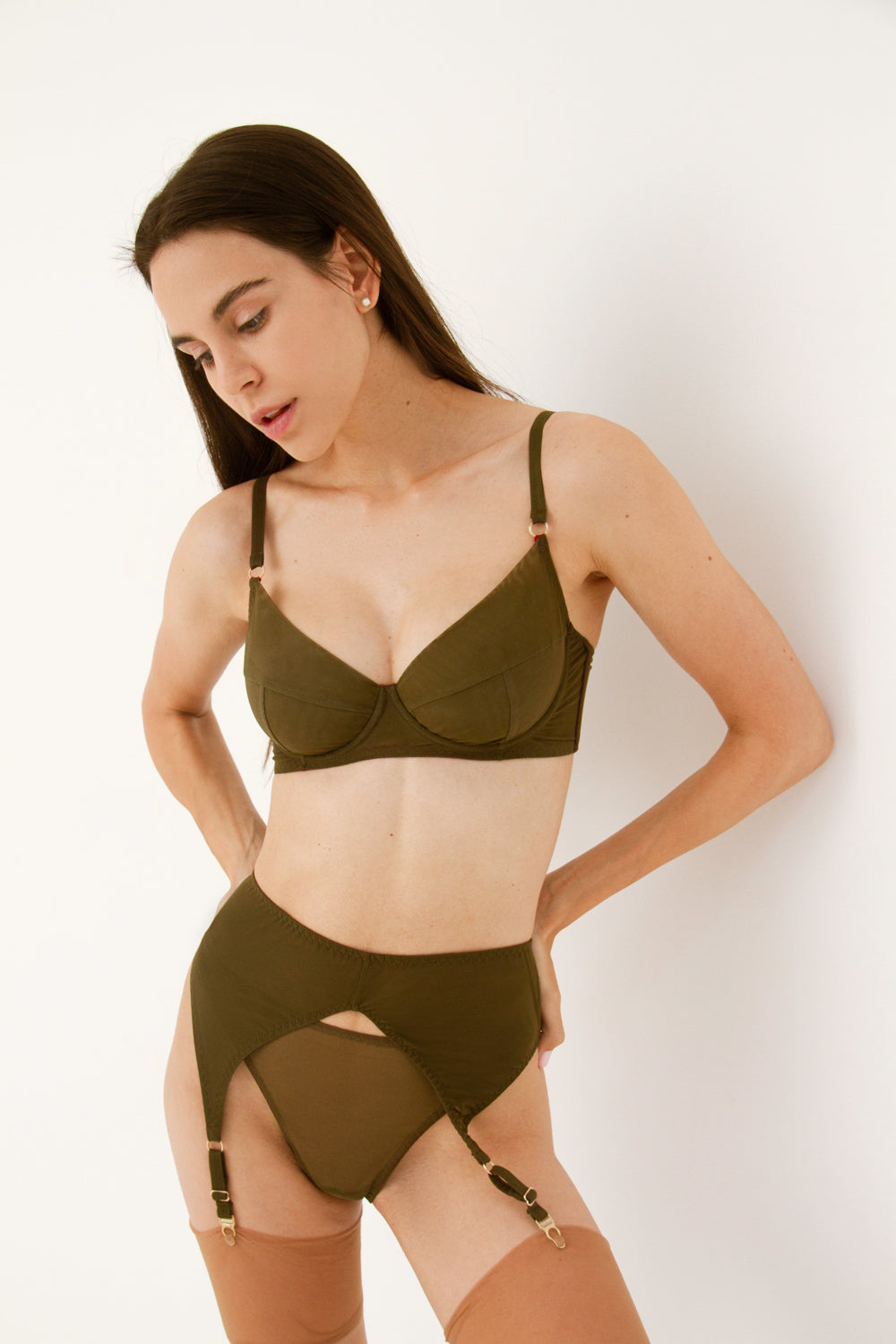 Diametra Eden high-waisted panties
