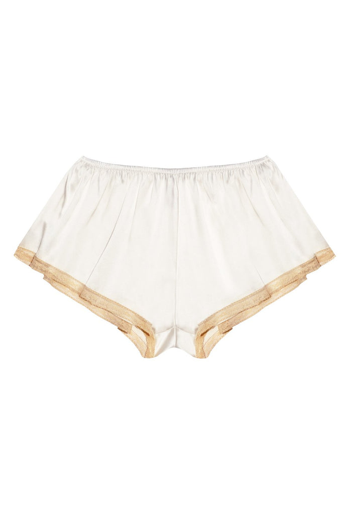 Majesté Porcelain silk shorts - Keosme