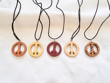 Load image into Gallery viewer, Peace Sign Pendant