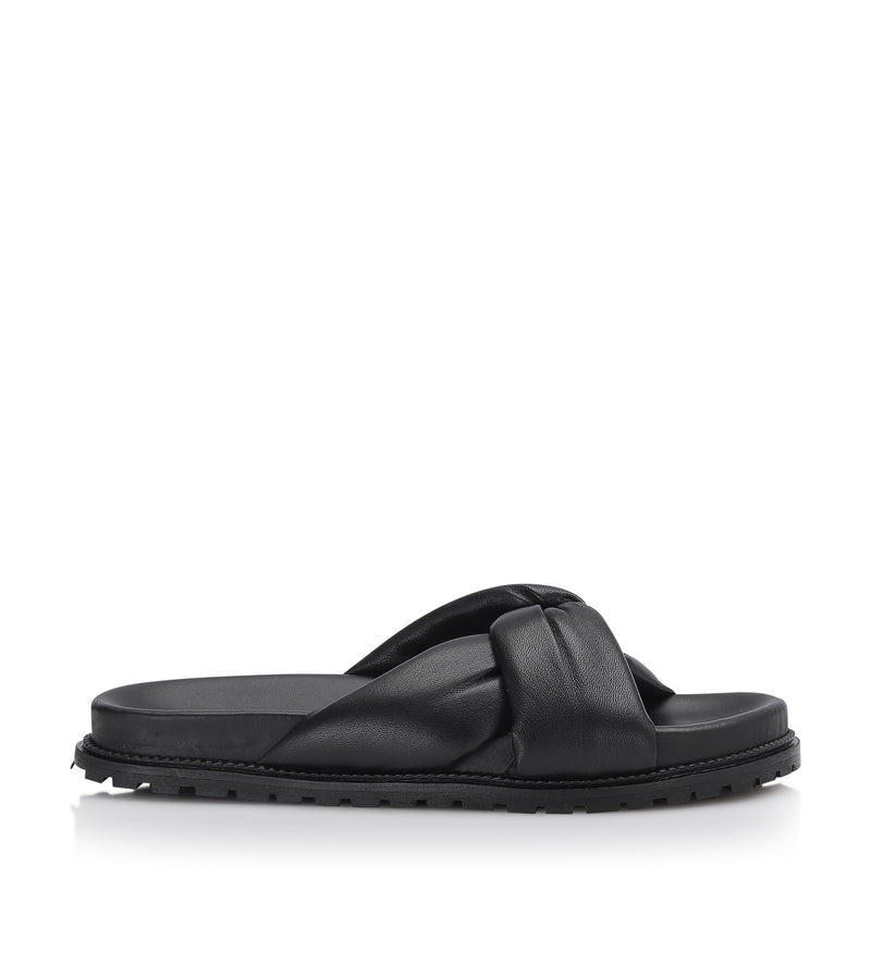 Gardenia Copenhagen Bellis Slipper Black