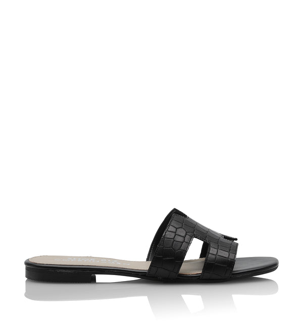 Shoe Biz Claire Slipper Black