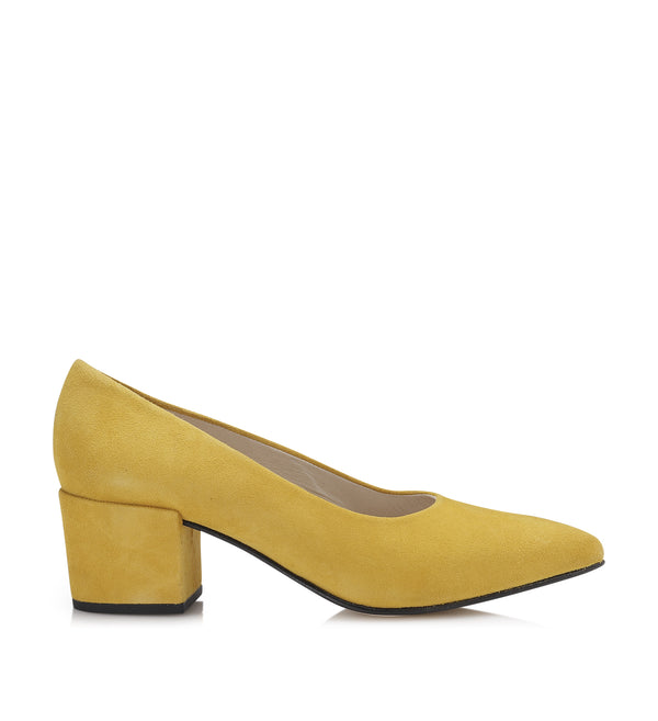 Shoe Biz Dalinja Pump Yellow