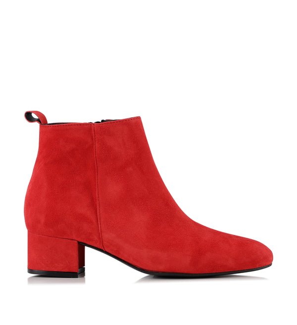 Gardenia Copenhagen Frankfurt Short Boot Red