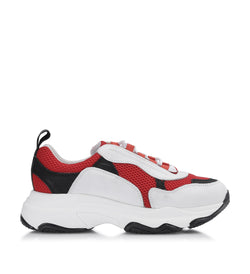 Shoe Biz Ground Sneaker Red