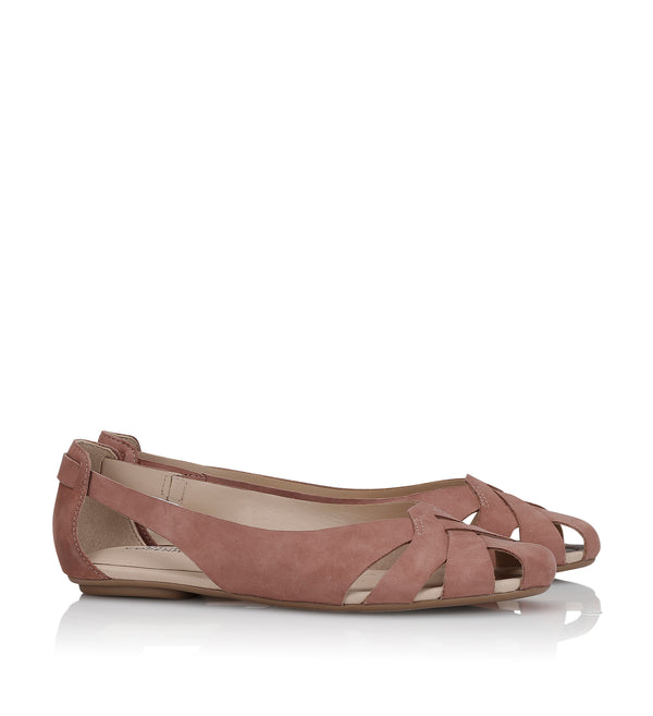 Shoe Biz Hanneine Ballerina Old Rose