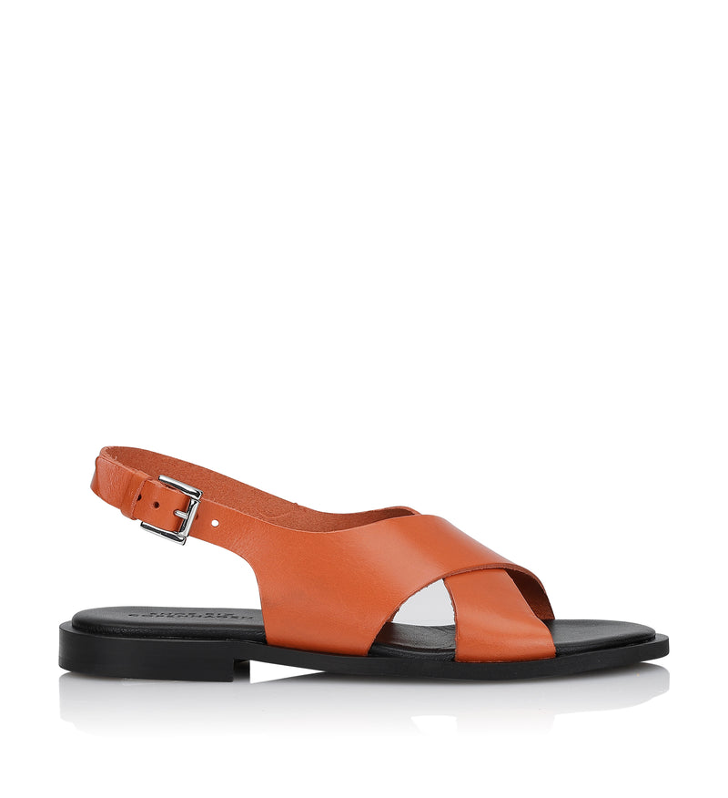 Shoe Biz Hasta Florida Classic Sandal Orange