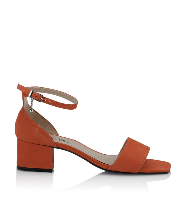Shoe Biz Moon Sandal Orange