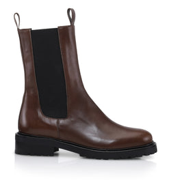 Gardenia Copenhagen Opal Short Boot Brown
