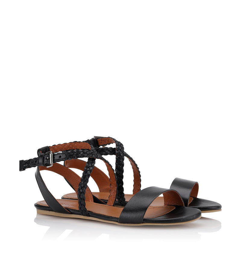 Shoe Biz Patio (0543) Sandal Black