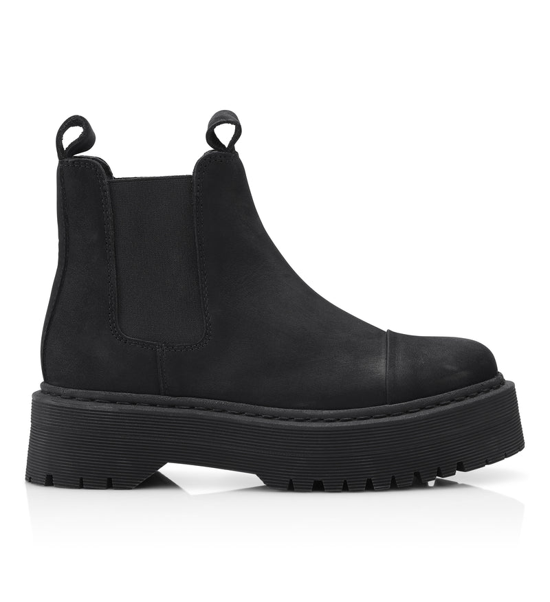 Shoe Biz Peyo Short Boot Black