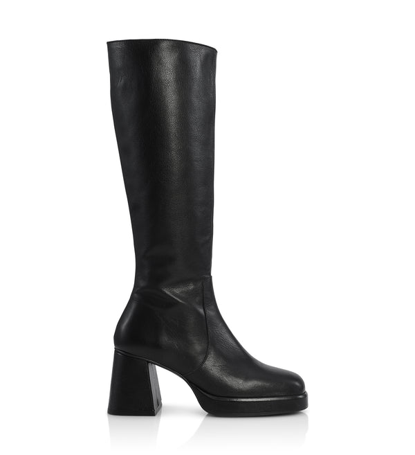 Shoe Biz Puima Long Boot Black