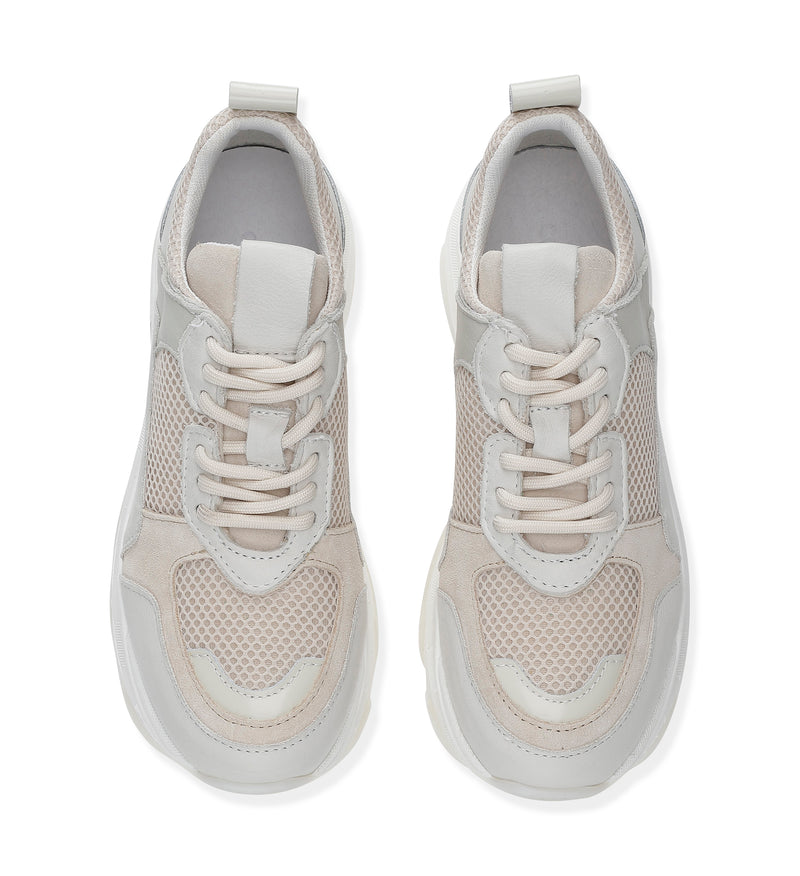 Shoe Biz Rad Latte Mix Sneaker Latte
