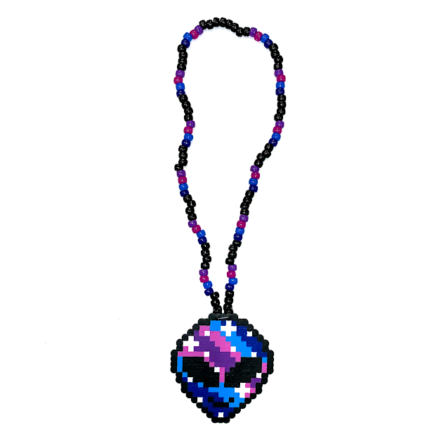 GALACTIC ALIEN NECKLACE