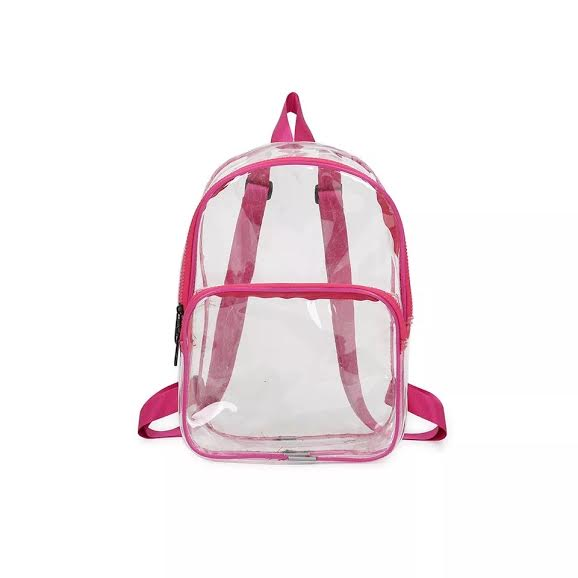 MINI BACKPACK (CLEAR)