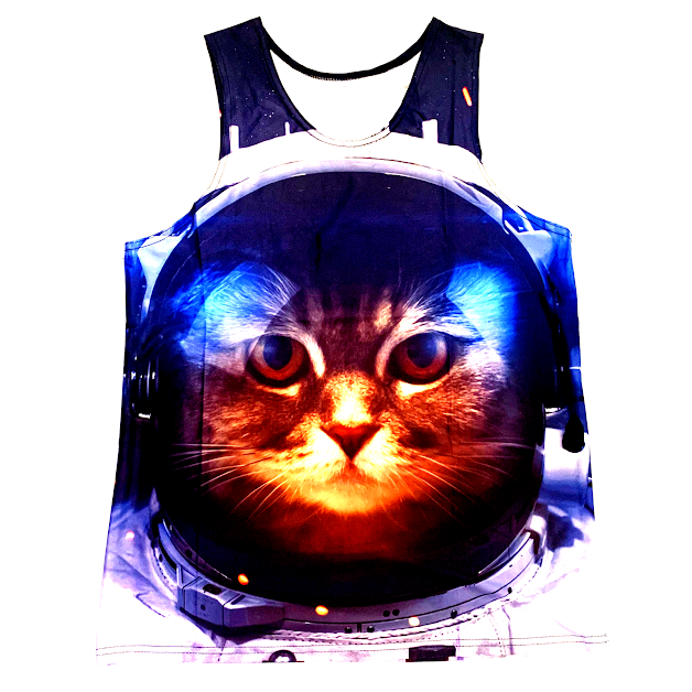 SPACE KAT TANK TOP