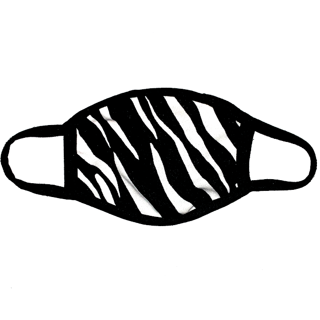ZOOM ZEBRA (face mask)