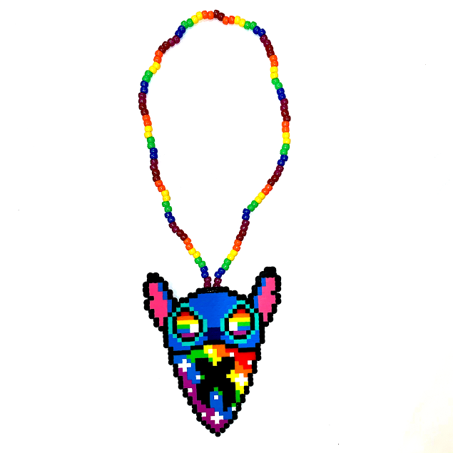 STITCH x EXCISION NECKLACE