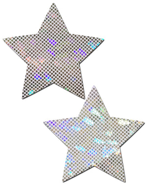 Star: Shattered Glass Disco Ball Star Nipple Pasties