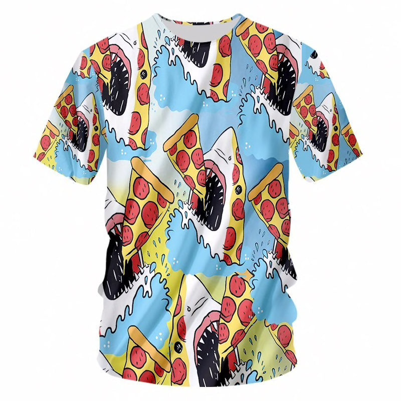 PIZZA SHARK SHIRT