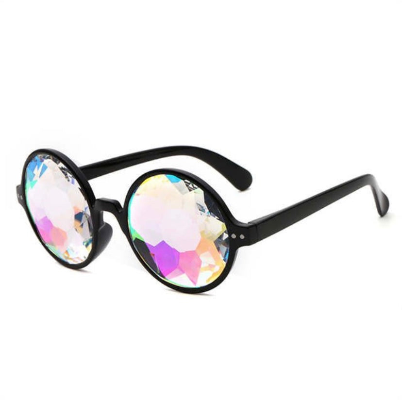Rounded Kaleidoscope Glasses