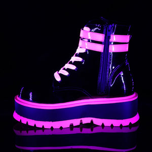 SLACKER NEON PINK (ANKLE BOOTS)