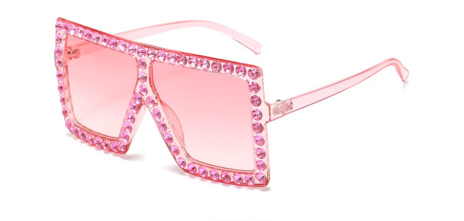 SPARKLED UP RHINESTONE SUNGLASSES