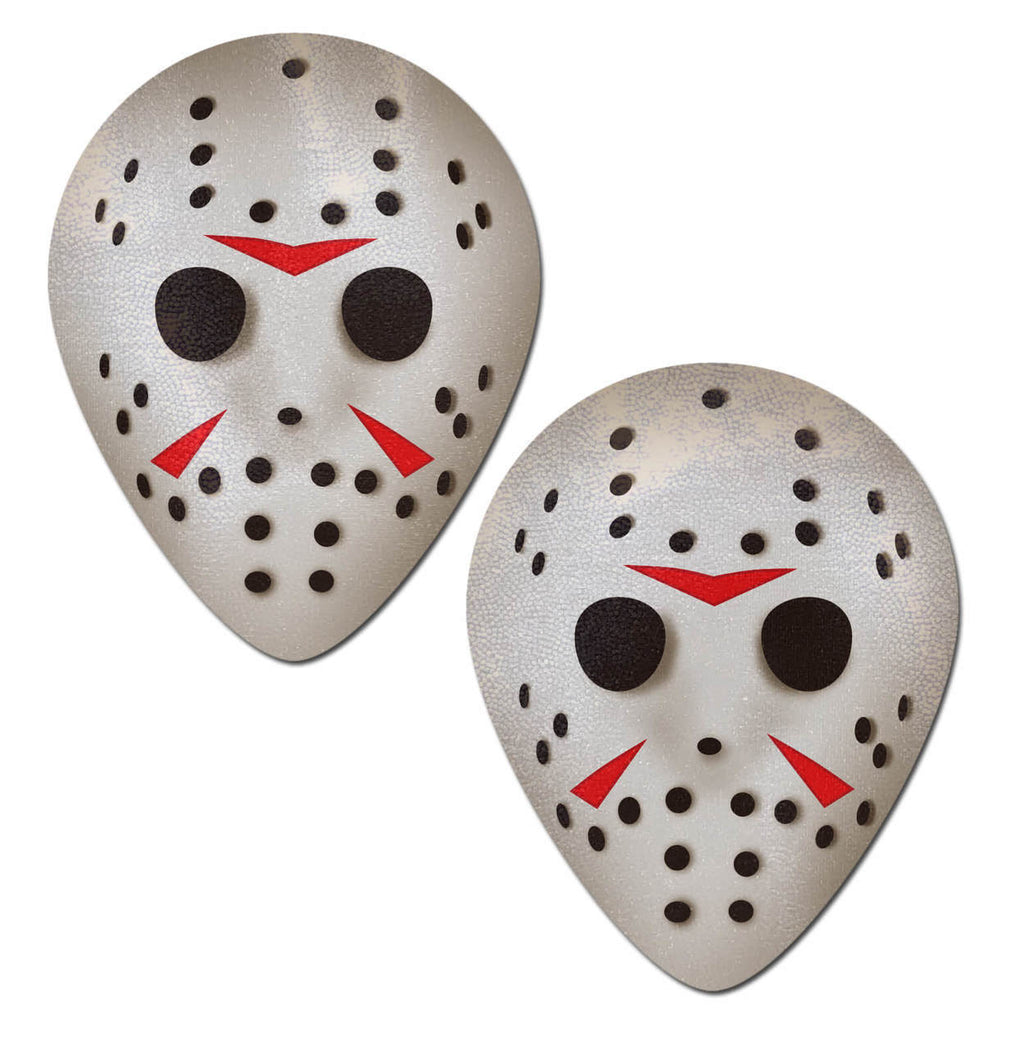 Hockey Mask Nipple Pasties