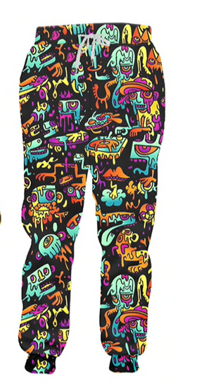 ACID MELT SWEATPANTS