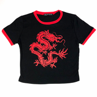 MAGIC DRAGON T-SHIRT (RED)