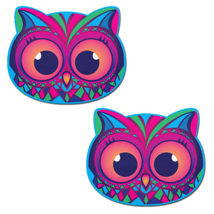 Owl: Tribal Multi-Color Trippy Owl