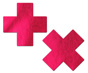 Plus X: Liquid Red Cross Nipple Pasties