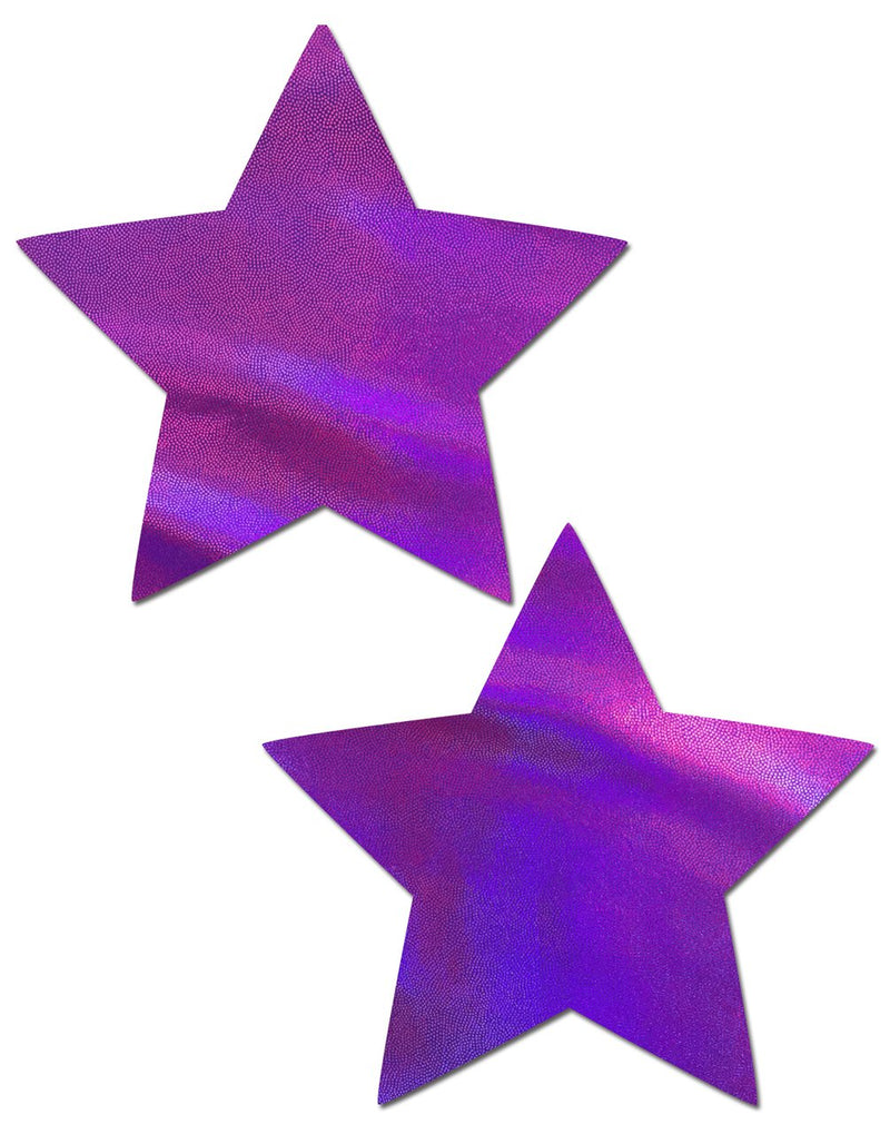 STAR HOLOGRAPHIC PURPLE