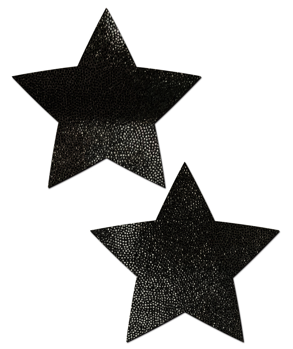 Star: Liquid Black Star Nipple Pasties