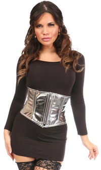 Top Drawer Silver Metallic  Mini Cincher