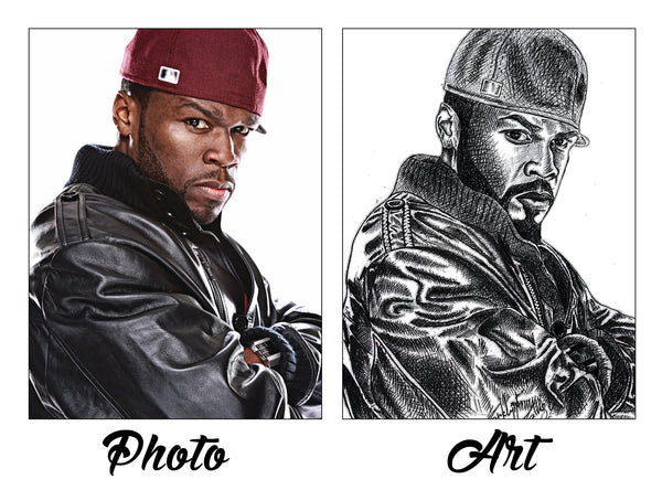 Order your Hand Drawn Sketch/Painting