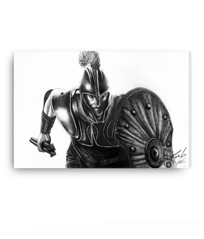 Landscape Canvas ( NEW) 08 - Troy - King Achilles